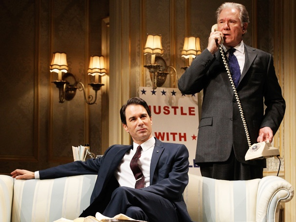 Take a First Look at Presidential Candidates Eric McCormack and John Larroquette in Gore Vidal's The Best Man