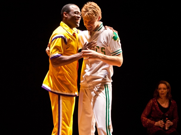 Nothin' But Net! Basketball Bio Drama Magic/Bird Opens On Broadway