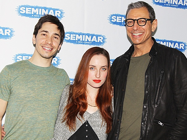 Jeff Goldblum, Justin Long & More Begin Run in Broadway's Seminar