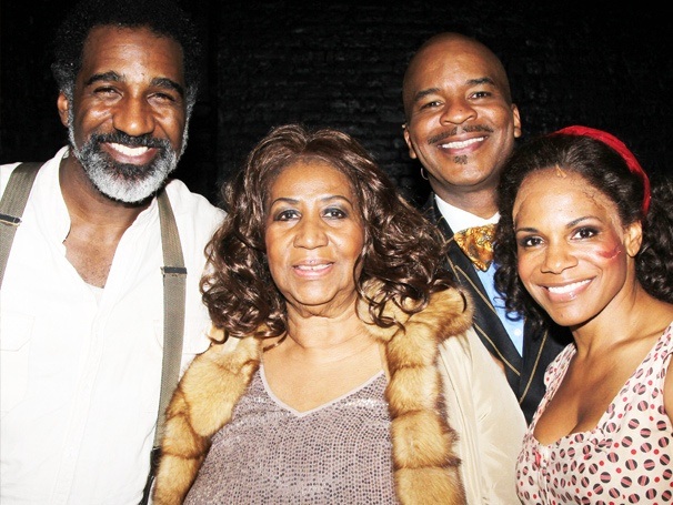 Queen of Soul Aretha Franklin Goes Backstage to Meet the Stars of Porgy and Bess