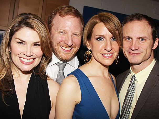 Sutton Foster, Brooke Shields & More Get Into It at the Starry Now. Here. This. Opening