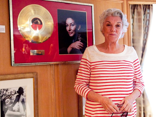 Master Class Star Tyne Daly Steps Aboard the Setting of a Real-Life Maria Callas Love Affair
