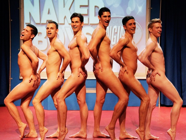 The Boys are Back! Naked Boys Singing! Opens Off-Broadway
