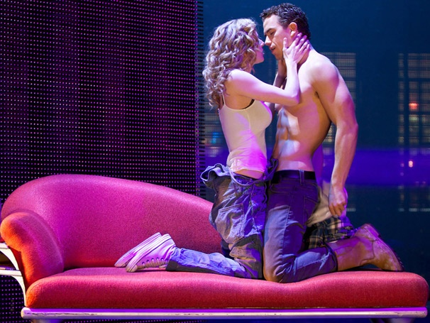Take a First Look at Otherworldy Love Story  Ghost, Starring Caissie Levy & Richard Fleeshman