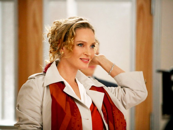 Uma Thurman Is a Tease, Christian Borle Cant Resist a Train Wreck and Other Smash Highlights