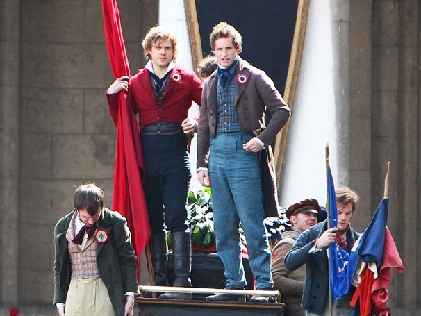 Do You Hear the People Sing? Get a First Look at Aaron Tveit and Eddie Redmayne in Les Miserables