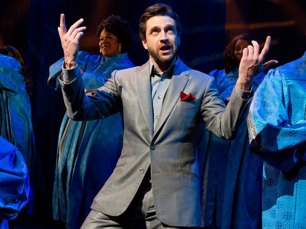 Take a Miraculous First Look at Leap of Faith, Starring Raúl Esparza