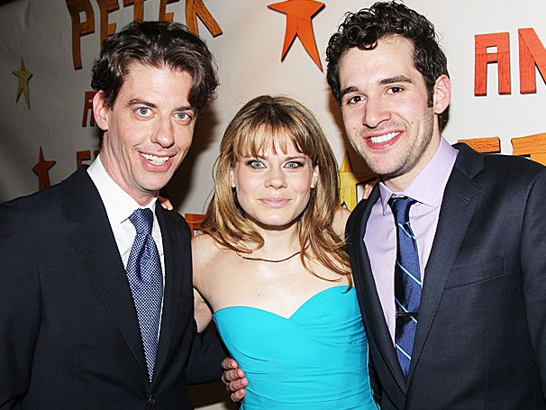 Bon Voyage! Join Christian Borle, Celia Keenan-Bolger & Adam Chanler-Berat on Opening Night of Peter and the Starcatcher