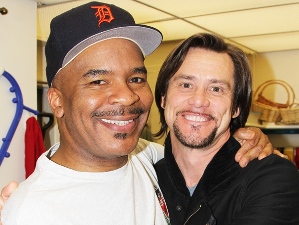 Jim Carrey Visits His In Living Color Co-Star David Alan Grier & the Cast of Porgy and Bess