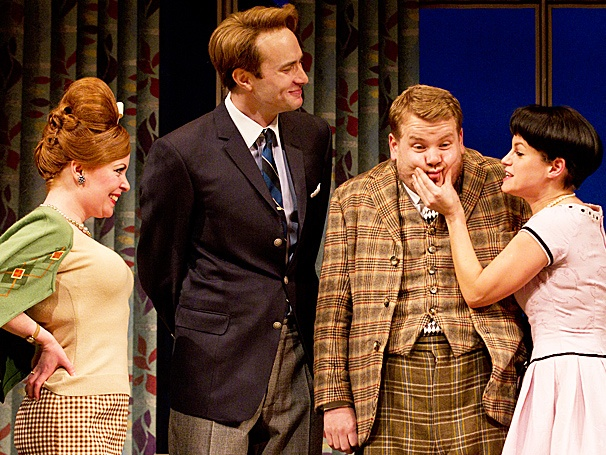 Cheers! British Farce One Man, Two Guvnors, Starring James Corden, Opens on Broadway