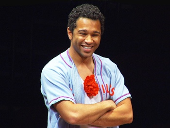 Exclusive! Watch Corbin Bleu Show Off His 'Good Gifts' in Rehearsal for Godspell