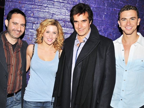 David Copperfield Enjoys a Magical Evening at Ghost