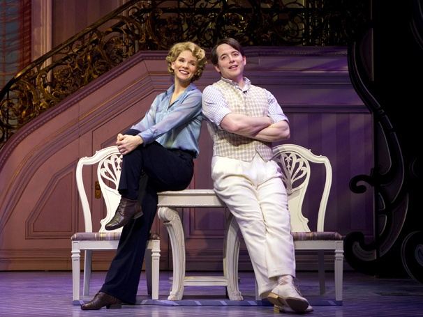 Get a 'Sweet and Lowdown' First Look at Matthew Broderick & Kelli OHara in the Gershwin Tuner Nice Work If You Can Get It