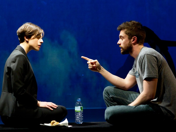 Take a First Look at Topher Grace and Olivia Thirlby in the Illuminating New Play Lonely, I'm Not