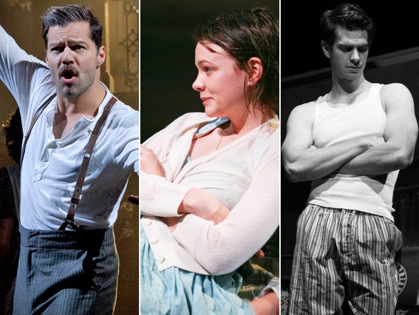 Ricky Martin, Carey Mulligan, Andrew Garfield and 52 Others Earn 2012 Drama League Nominations