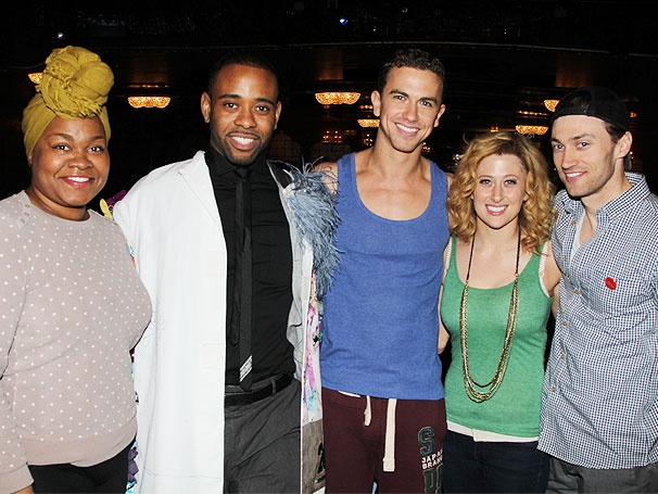 Hot Shot! Richard Fleeshman, Caissie Levy & Co. Get Lucky at Ghost's Gypsy Robe Ceremony