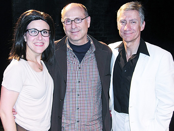 James Lapine Takes in Dinner and a Show at Off-Broadway's Silence! The Musical