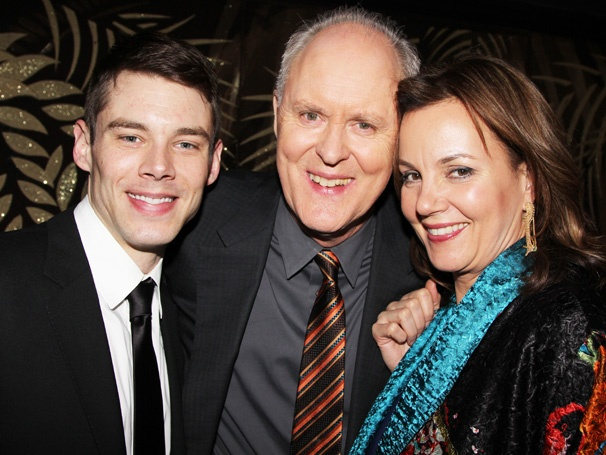 John Lithgow and the Stars of The Columnist Make Headlines on Opening Night
