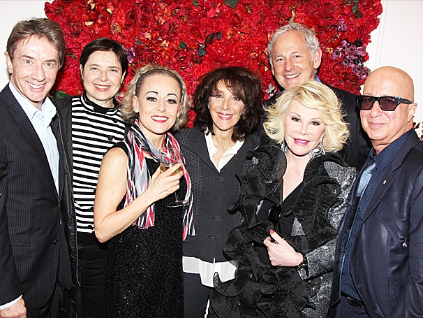Joan Rivers, Martin Short & More Turn Out to See Tracie Bennett in End of the Rainbow