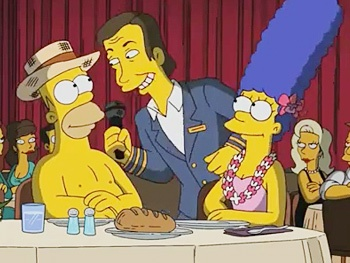 Take a First Look at the New Simpsons Song From Book of Mormon Composer Robert Lopez