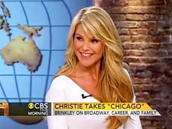  Christie Brinkley Talks Her Comedic Take on Chicago  on CBS This Morning 