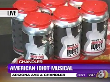Have the Time of Your Life! Green Days American Idiot Opens in Seattle