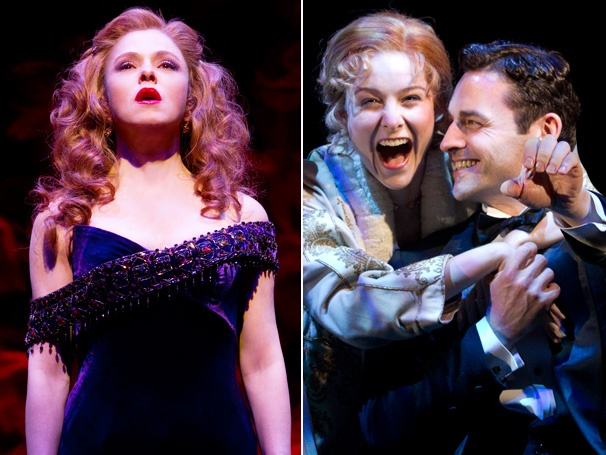 Follies and Death Takes a Holiday Lead 2012 Drama Desk Nominations
