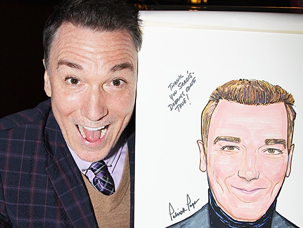 Spider-Man Star Patrick Page Claims His Spot on the Wall at Sardi's