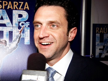 Praise Him! Watch Raúl Esparza and the Stars of Leap of Faith Catch the Spirit on a Blessed Opening Night!