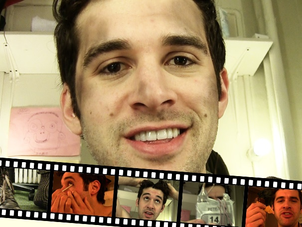 Boy's Life: Backstage at Peter and the Starcatcher with Adam Chanler-Berat Episode 3: 'Punk-Rock' Eyeliner, Yoga & More Pre-Show Rituals