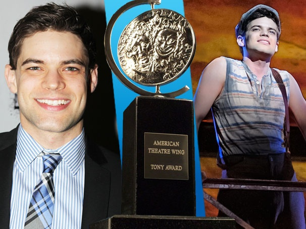 Newsies Nominee Jeremy Jordan Will Be 'Freaking Out' at the Tony Awards