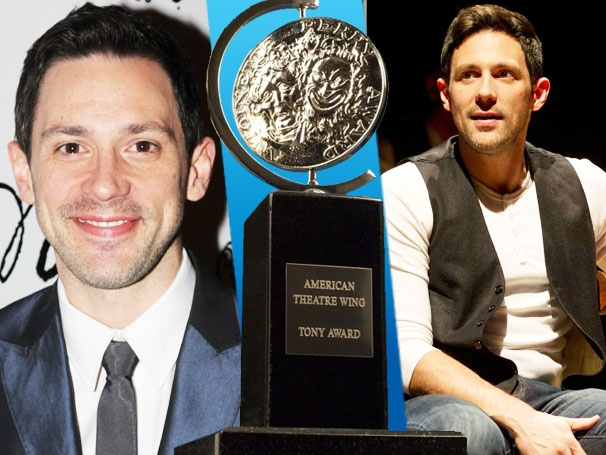 Once Star Steve Kazee Celebrates His Induction into the 'Class of 2012' Tony Nominees