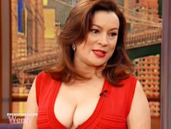Don't Dress For Dinner's Jennifer Tilly Dishes on Kissing Strange 'Men, Women & Dolls' on The Wendy Williams Show