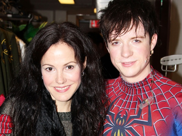 Tony Winner Mary-Louise Parker Flies High at Spider-Man Turn Off the Dark