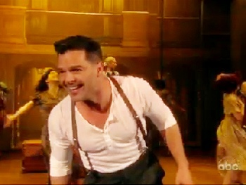 Watch Ricky Martin, Elena Roger and the Cast of Evita Hit the Dance Floor on The View
