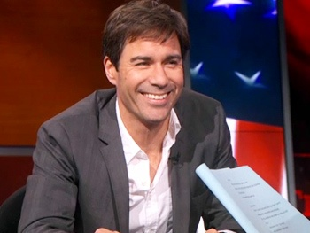 Watch The Best Man's Eric McCormack Rehearse an All-Straight Version of Will & Grace on The Colbert Report