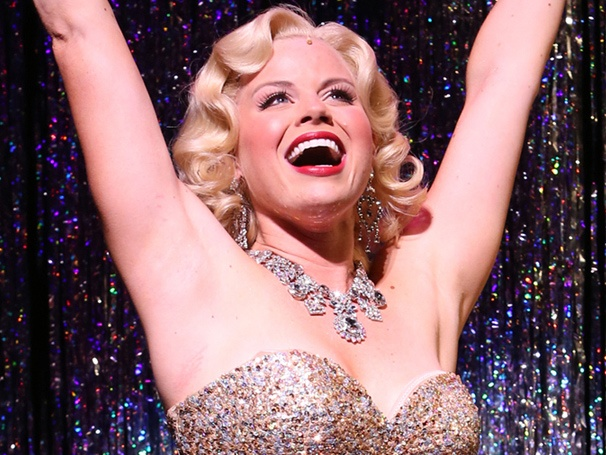 Get a First Look at Why Gentlemen Prefer Blondes with Megan Hilty, Rachel York, Aaron Lazar and More