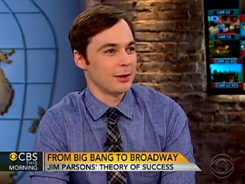 Harvey Star Jim Parsons Explains the Difference Between Geeky, Dorky & Nerdy on CBS This Morning