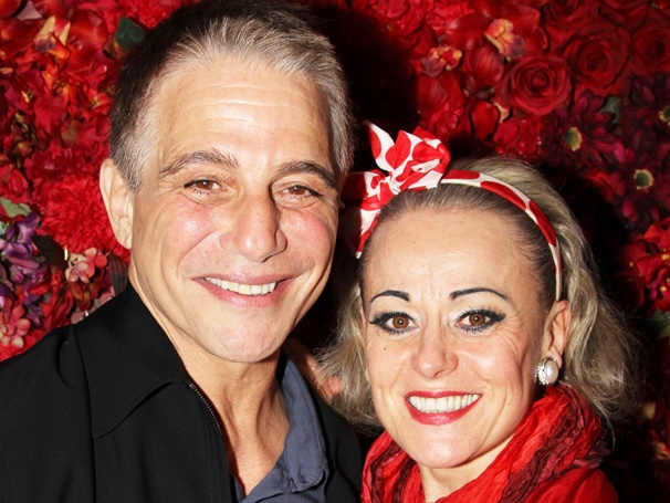 End of the Rainbow's Tracie Bennett Is Toasted by Tony Danza & Tippi Hedren