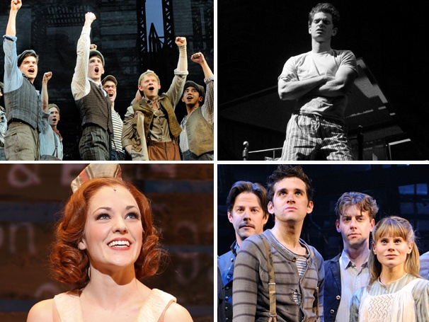 Newsies Wins Big at Broadway.com Audience Choice Awards; Full Winners List Announced