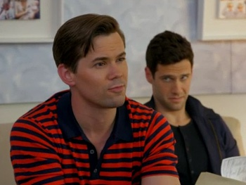 The Book of Mormon's Andrew Rannells Goes Surrogate Shopping on The New Normal