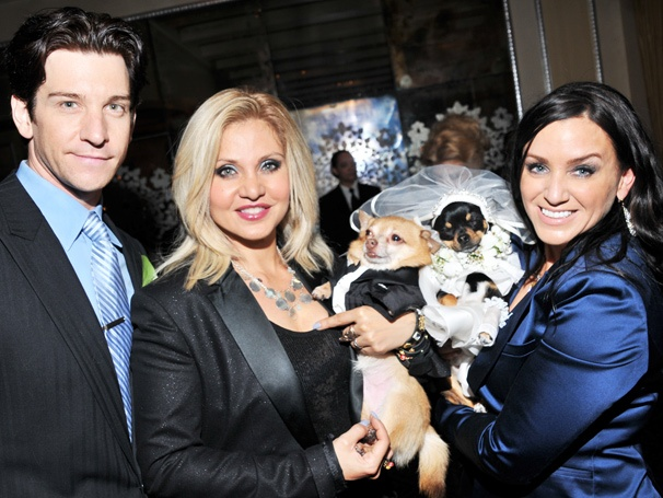 You May Now Lick the Bride! Orfeh and Andy Karl Celebrate the Best Doggie Wedding Ever