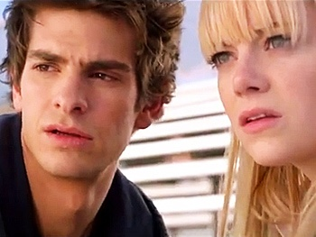 Watch Death of a Salesmans Andrew Garfield and Emma Stone in an Extended Spider-Man Preview