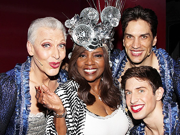 Diva in the House! Disco Legend Gloria Gaynor Takes in Priscilla Queen of the Desert