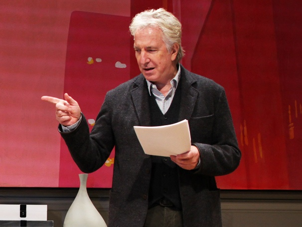 Alan Rickman's Broadway.com Audience Choice Award Win Brings Back Memories of a 'Very Good Time' in Seminar
