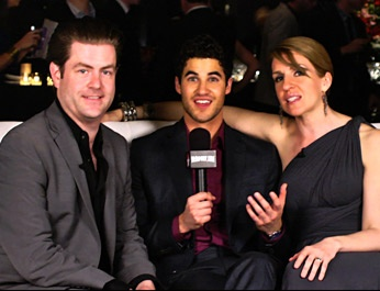 Even More Darren Criss! Bonus Footage from the 2012 Broadway.com Audience Choice Awards After-Party
