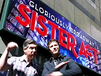 SNL Stars Andy Samberg and Chris Parnell Head to Sister Act in Digital Short 'Lazy Sunday 2'