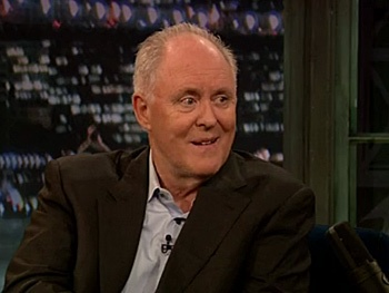 The Columnist's John Lithgow Dishes on Missing Woodstock and Plays Charades on Late Night