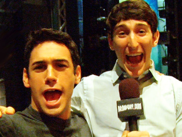 Get In on the Backstage Fun at Newsies with Ben Fankhauser and Tommy Bracco