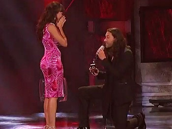 Watch Ace Young Propose to His Hair Co-Star Diana DeGarmo on American Idol!